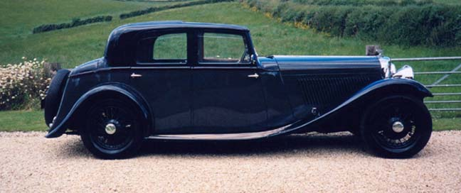 Bentley 3.5 off side
