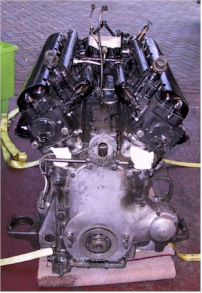 R-R PIII - Engine front view