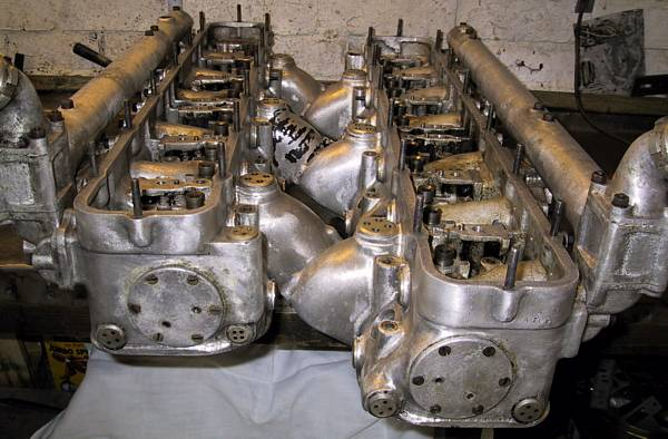 R-R PIII - cleaned cylinder heads