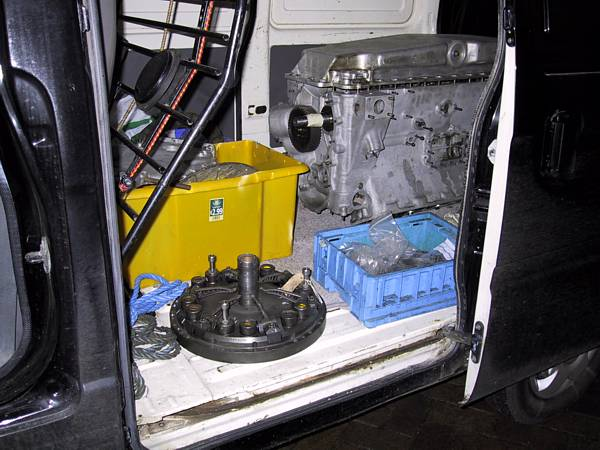 R-R PIII - engine in van