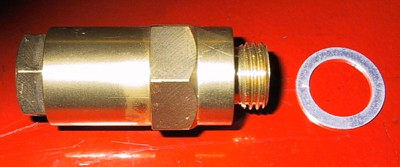 R-R PIII  - radiator steam valve: side