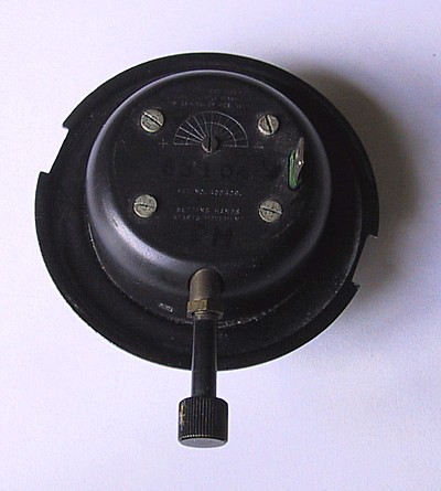 PIII electric clock back